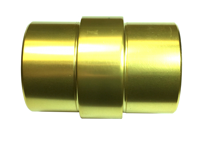 B52 Gold anodized handrail-aresscorp-pozeidon-connector handrail