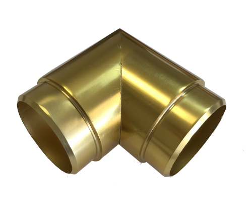 gold anodized Aluminum Angle 90 Degree 1.97- b52 - aresscorp