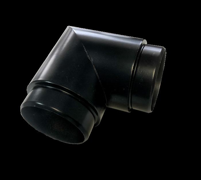 black Aluminum Angle 90 Degree 1.97- b52 - aresscorp